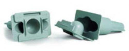 Conector Blindado DB Bege P/ Cabos 1,5 mm